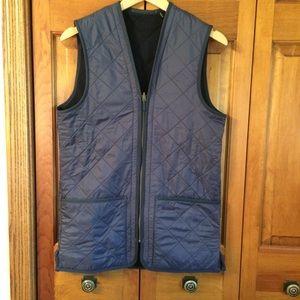 Men's Barbour Diamond Quilted Fleece Lined Vest